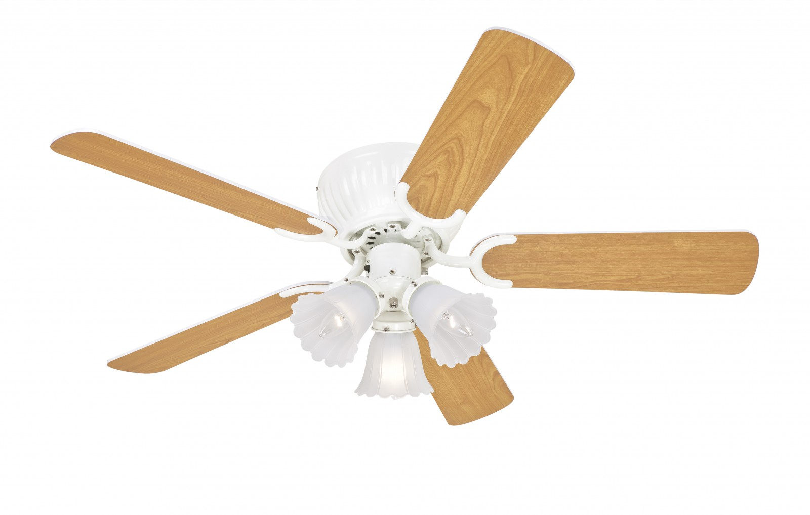 Ceiling Fan Kisa White 105 Cm 41 For Low Ceilings