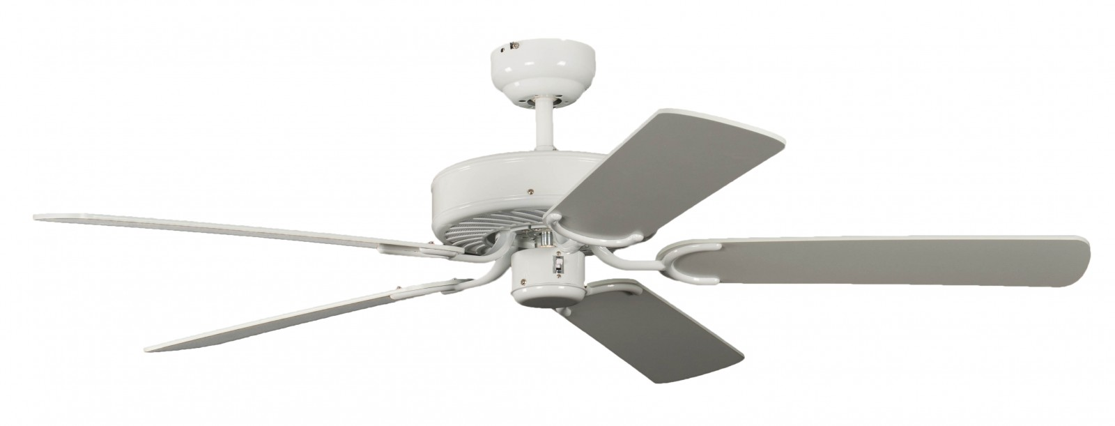 Ceiling Fan Potkuri white, selectable blade colour Ceiling fans for domestic and professional ...