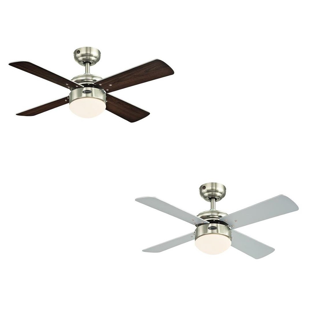 westinghouse ceiling fan colosseum brushed nickel. Black Bedroom Furniture Sets. Home Design Ideas