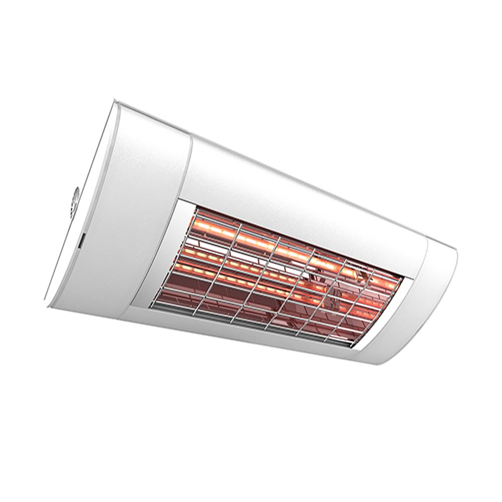 Infrared heater solamagic s1 1400 watt ip44 in various - Infrared bathroom ceiling heaters ...