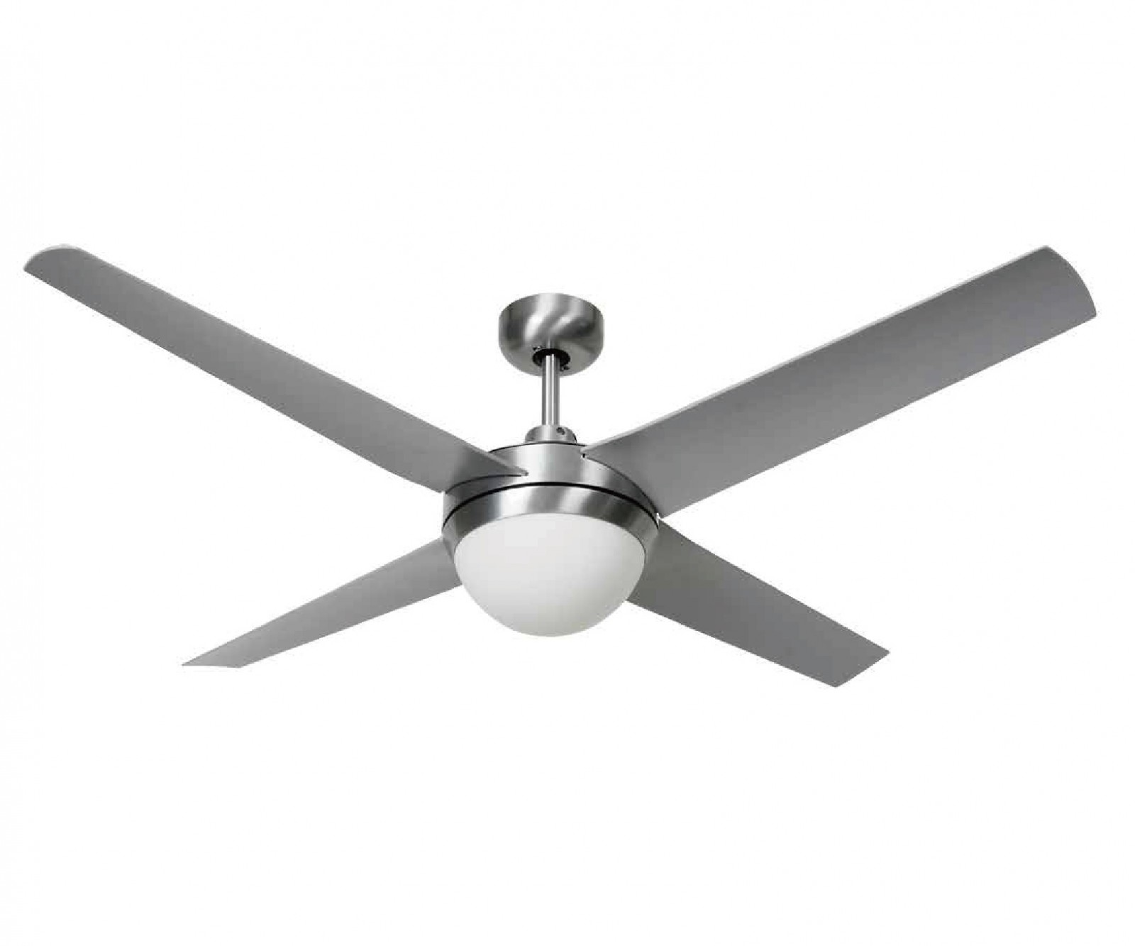 Beacon Outdoor Ceiling Fan Altitude Eco Silver With